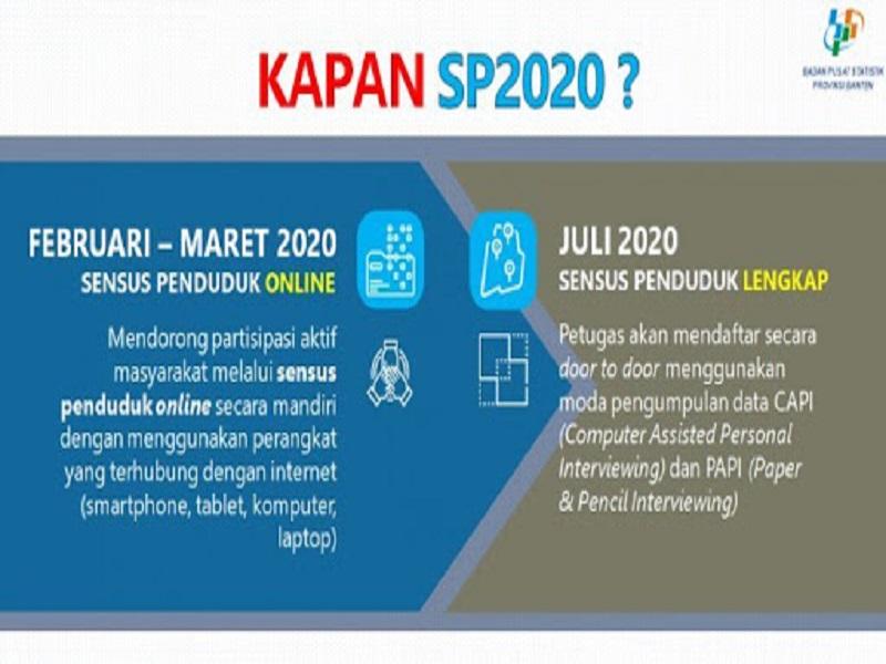 TUTORIAL SENSUS PENDUDUK ONLINE 2020 MULAI TANGGAL 15 - 31 MARET 2020